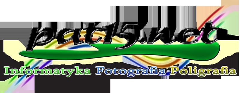 pat15.net - Patryk Kłoda - Informatyka, Fotografia, Poligrafia